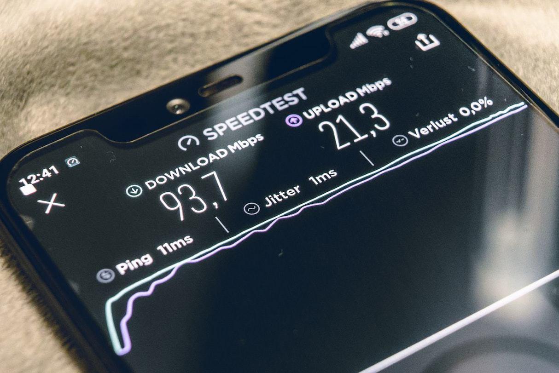 WiFi-通信速度チェック