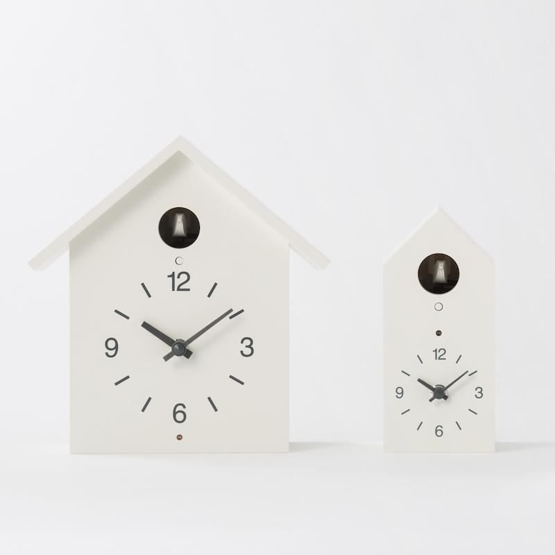 鳩時計大と小