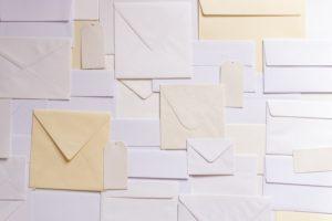 手紙 大量