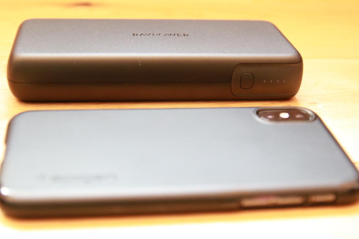 RP-PB201とiPhoneXSを比較