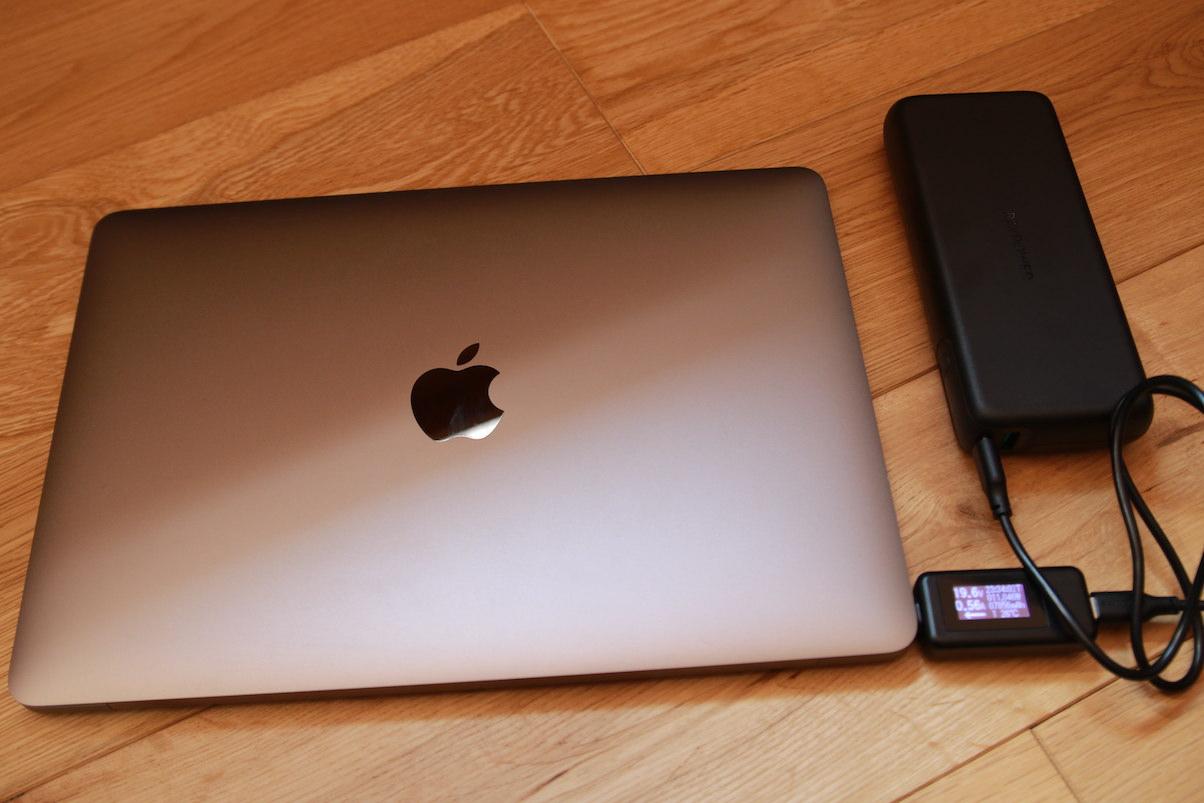 RP-PB201でMacbookを充電