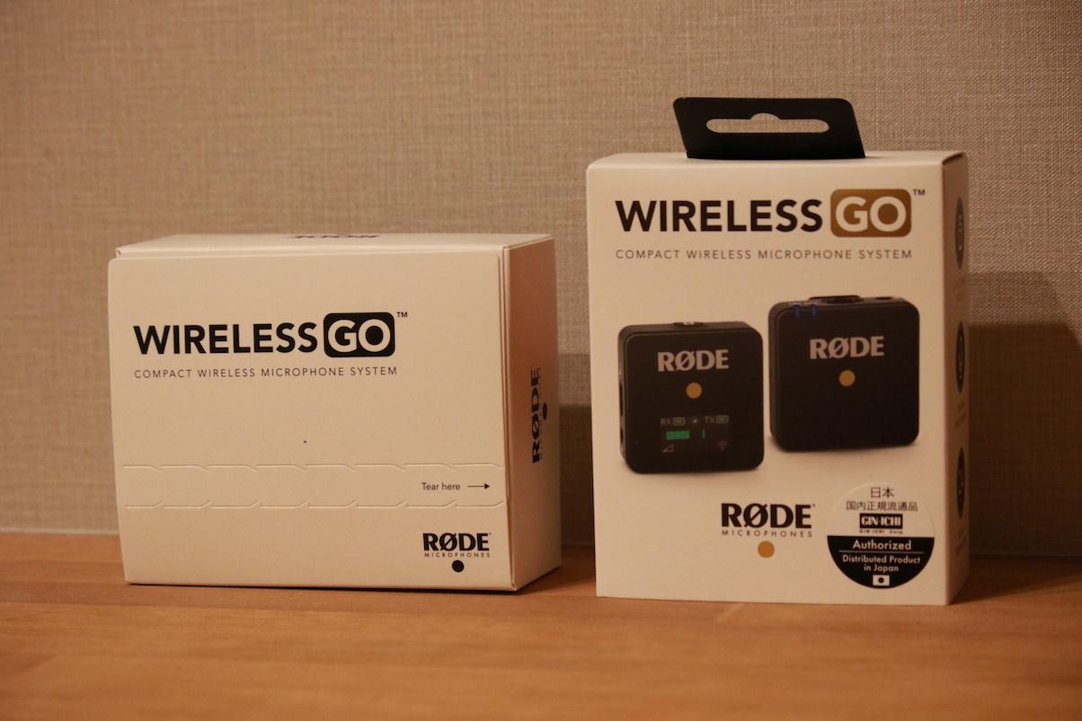 RODE WirelessGo箱