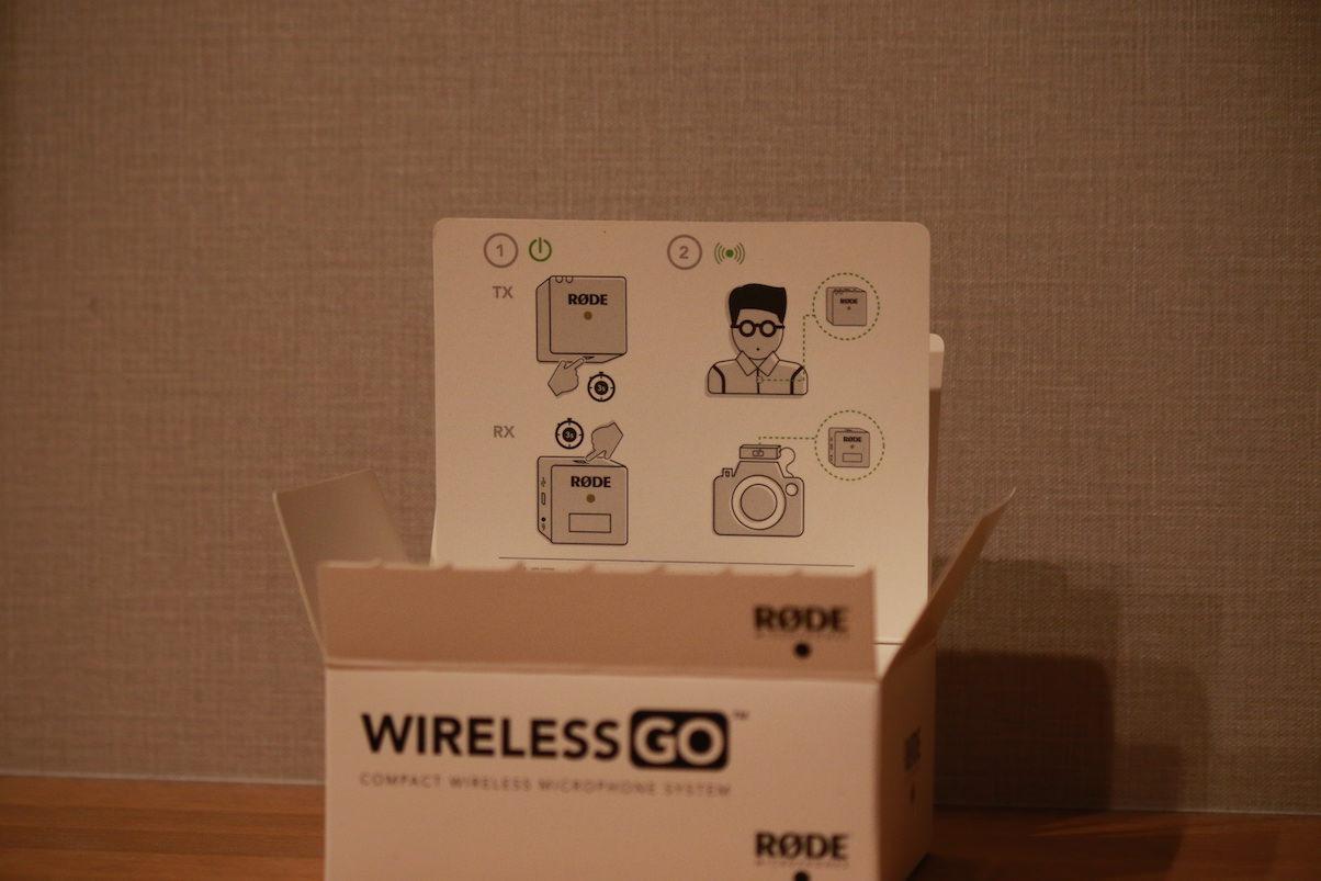 RODE WirelessGo内箱