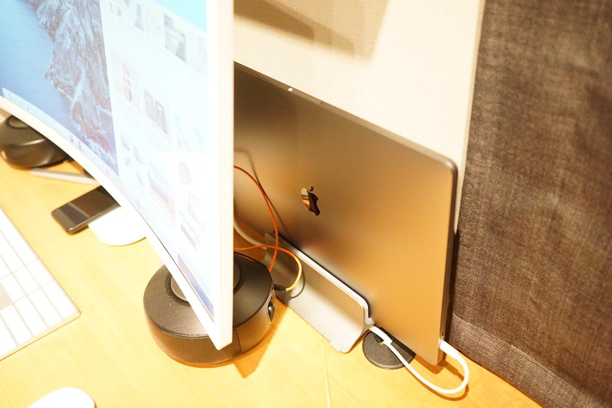 HKC C340をMacbookPro16インチのクラムシェルモードで動作