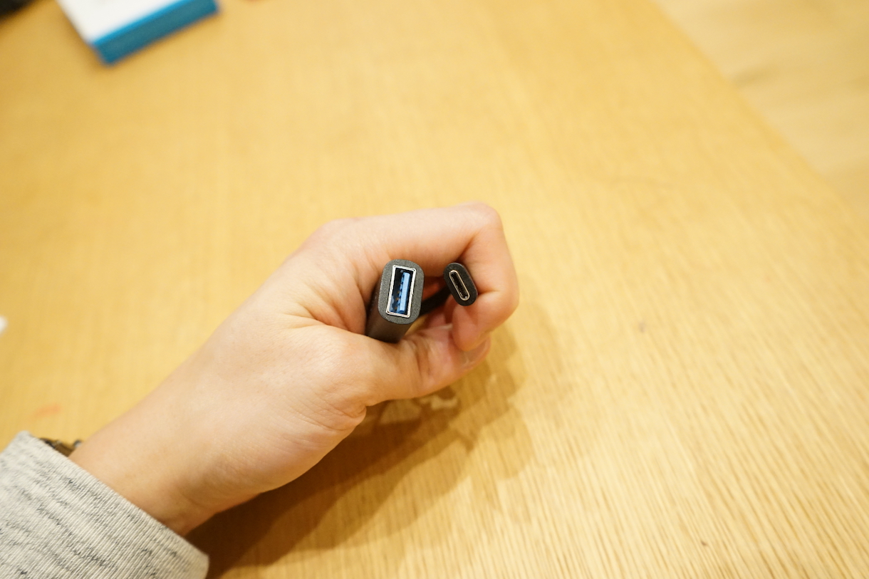 Anker USB-A→USB-C変換コネクタ