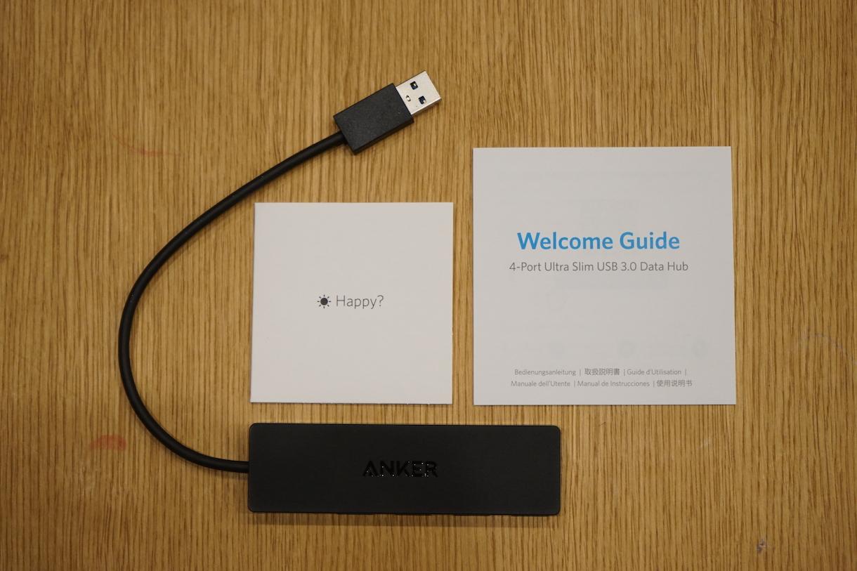 Anker USB-Aハブ