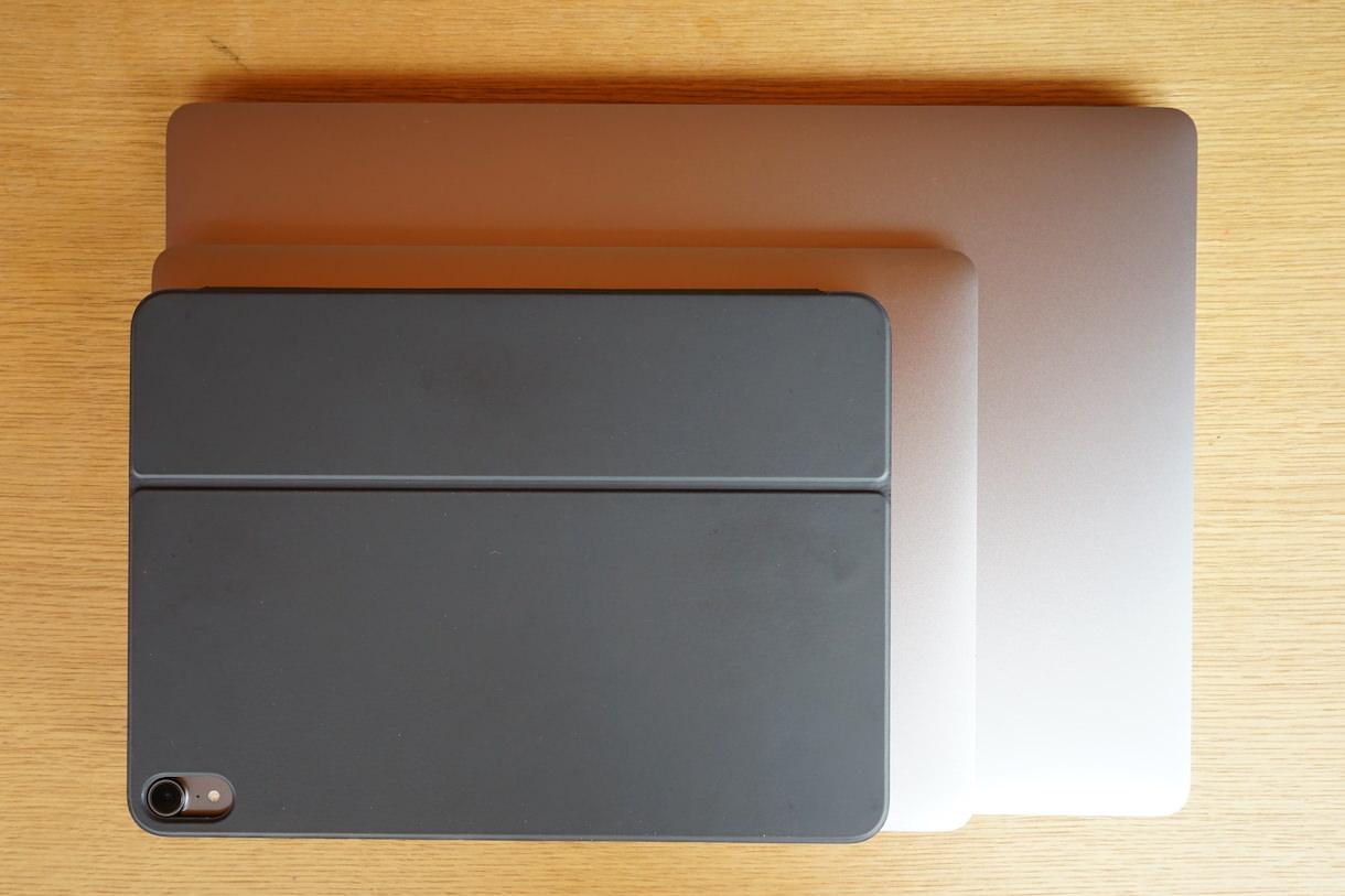 MacbookPro16inchとMacbook12inchとiPadPro11inch