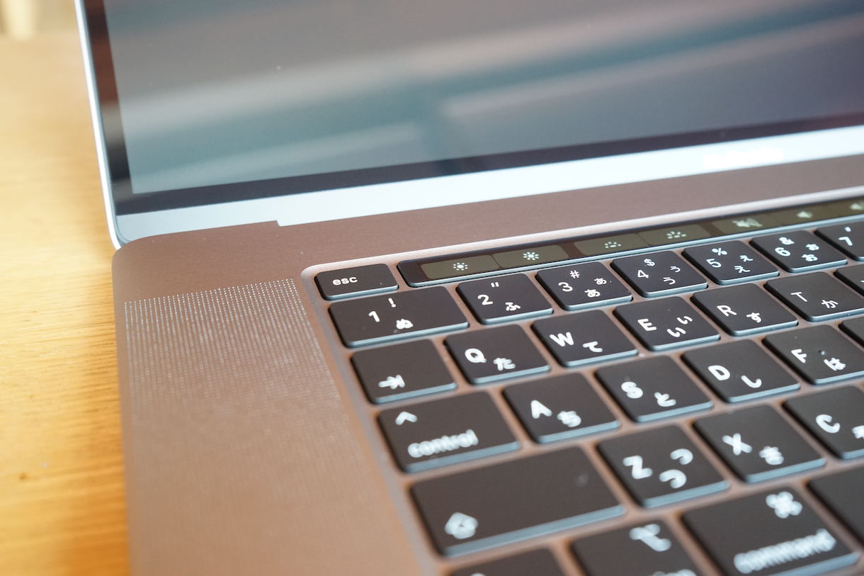 MacbookPro16インチのMagicKeyboard