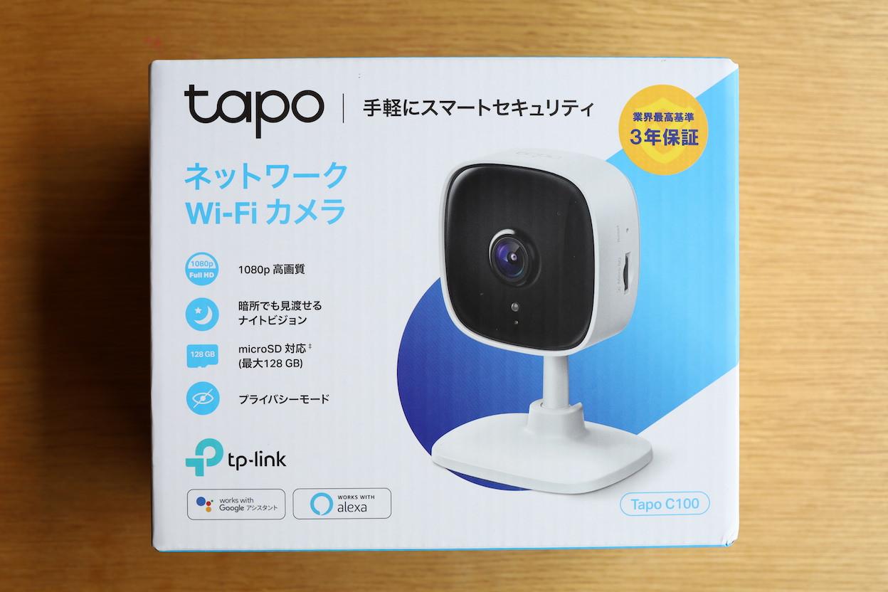 Tapo C100ネットワークWiFiカメラ